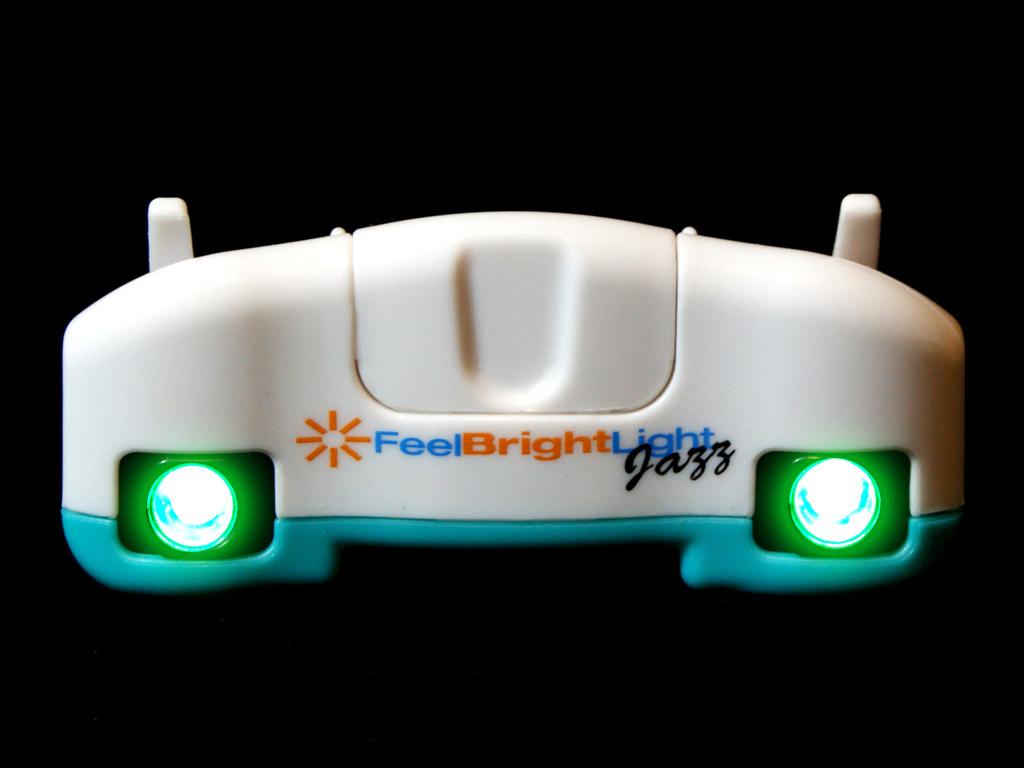 Feel Bright Light Jazz - Aqua Front On